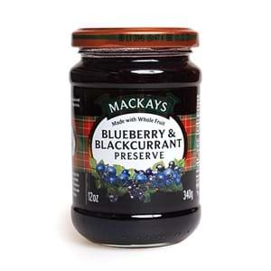 Mackays Blueberry & Blackcurrant Preserve 340g