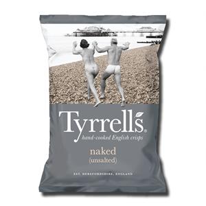 Tyrrell's Naked No Salt 150g