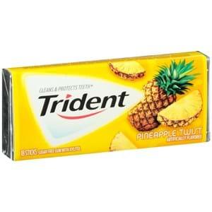 Trident Pineapple Twist Gum 14'