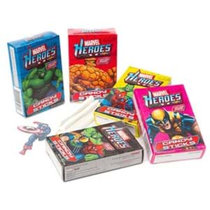 Marvel Heroes Candy Stick Tattoo 15g