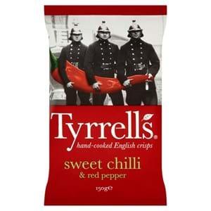 Tyrrell's Sweet Chilli & Red Pepper 150g