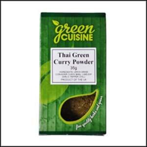 Green Cuisine Thai Green Curry Powder 35g