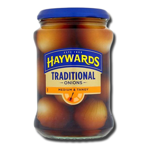 Haywards Medium & Tangy Tradicional Onions 400g