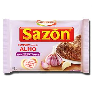 Sazon Tempero de Alho 60g