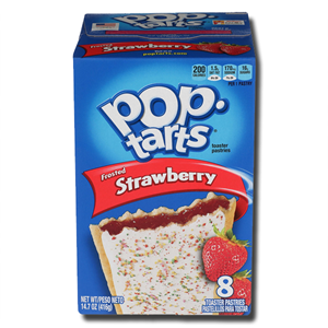 Kellogg's Pop Tarts Strawberry Frosted 384g