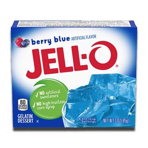 Jell-O Berry Blue Gelatin 85g