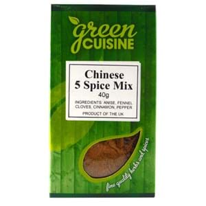 Green Cuisine Chinese 5 Spice Mix 40g