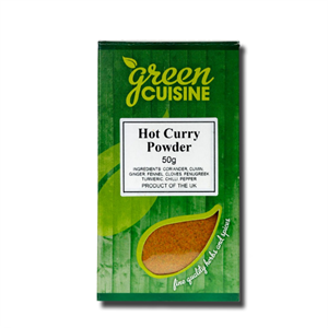 Green Cuisine Hot Curry Powder 50g