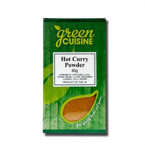 Green Cuisine Hot Curry Powder 50g