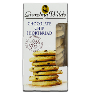 Grandma Wild's Chocolate Chip Shortbread 150g