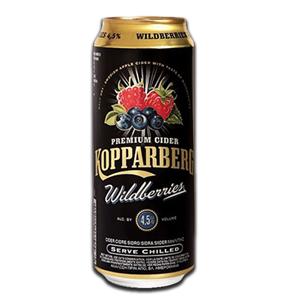 Kopparberg Cider Wildberries Can 500ml