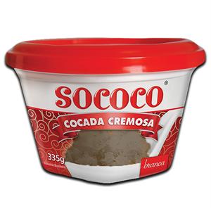 Sococo Doce de Coco Cremoso Queimado 335g