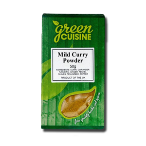 Green Cuisine Madras Curry Powder 50g