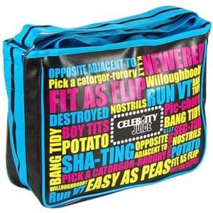 Pop Art Bag Celebrity Juice Satchel