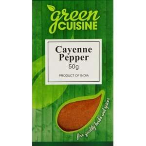 Green Cuisine Cayenne Pepper 50g