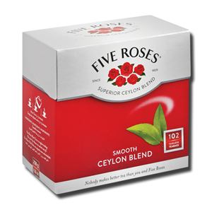 Five Roses Leaf 102 Teabags 250g