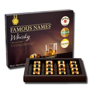 Famous Names Whisky Collection 185g