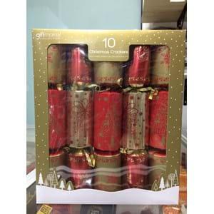 Giftmaker 10 Christmas Crackers Lux