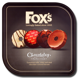 Fox´s Chocolatey Selection Tin 365g