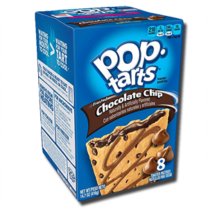 Kellogg's Pop Tarts Frosted Chocolate Chip 384g