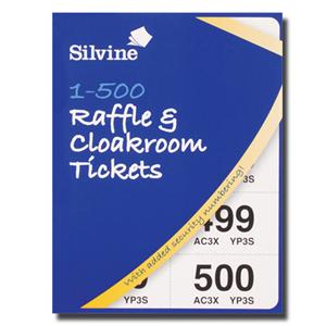 Raffle & Cloakroom Tickets 500