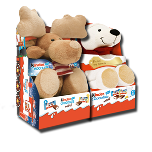 Kinder Chocolate Fluffy Toy 73g