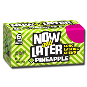 Now and Later Pineapple Gum 26g