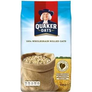 Quaker Wholegrain Rolled Oats 500g
