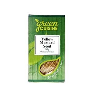 Green Cuisine Yellow Mustard ASeed 50g