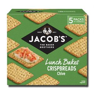Jacob's Crispbreads Chive 5's 190g
