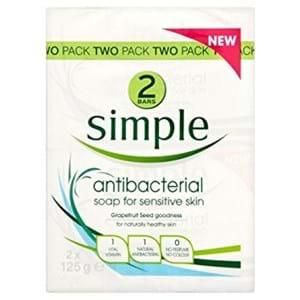 Simple Soap Sensitive Skin 2x125g