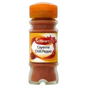 Schwartz Cayenne Chilli Pepper 26g