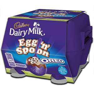Cadbury Egg 'n' Spoon Oreo 136g