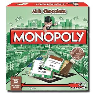 Hasbro Monopoly Milk Chocolate Box 144g