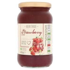 Heritage Strawberry Jam 454g