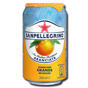 Sanpellegrino Orange Italian Aranciata 330ml