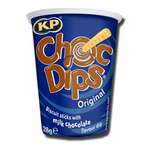 KP Choc Dips 28g