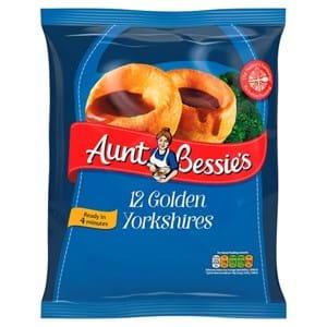 Aunt Bessie's 12 Golden Yorkshires 220g