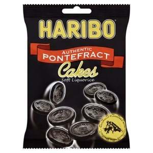 Haribo Liquorice Pontefract Cakes 160g