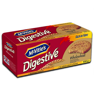 Mcvitie's Digestive Integral Wholewheat 400g