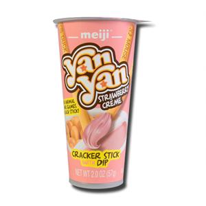 Meiji Yam Yam Strawberry Dips 57g