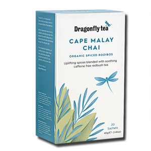 Dragonfly Tea Cape Malay Chai Rooibos 20's
