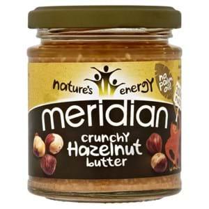 Meridian Hazelnut Butter Crunchy Vegan 170g