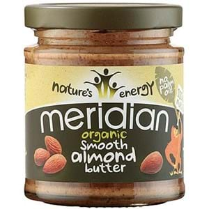Meridian Organic Almond Smooth Butter 170g