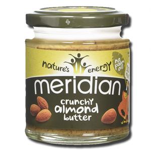 Meridian Almond Butter Crunchy Vegan 170g