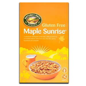 Nature's Path Gluten Free Maple Sunrise Cereal 332g