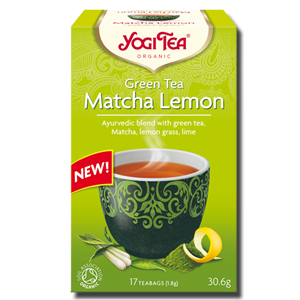 Yogi Tea Matcha Lemon Green Organic 17 Teabags