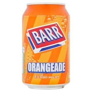 Barr Orangeade 330ml