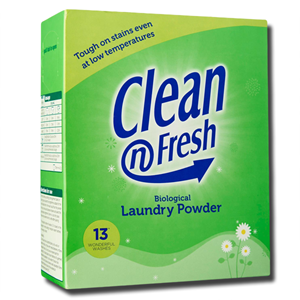 Clean & Fresh Biological Laundry Powder 867g