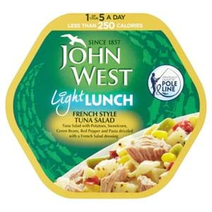 John West Light Lunch French Tuna 220g